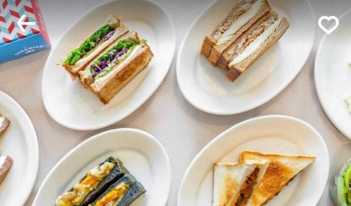 高崎UberEatsおすすめレストラン(サンドイッチクラブ)