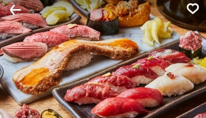 静岡UberEatsおすすめレストラン(肉寿司)