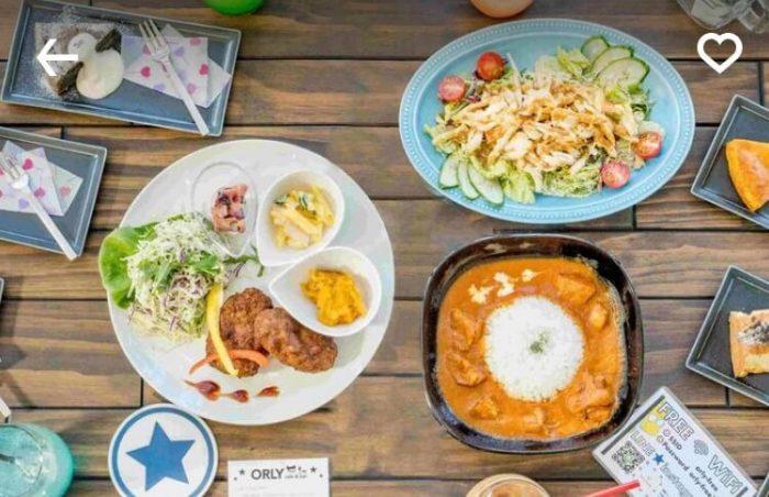 姫路menuおすすめレストラン(カフェ バー オルリー)