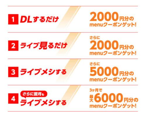 menu×17クーポン