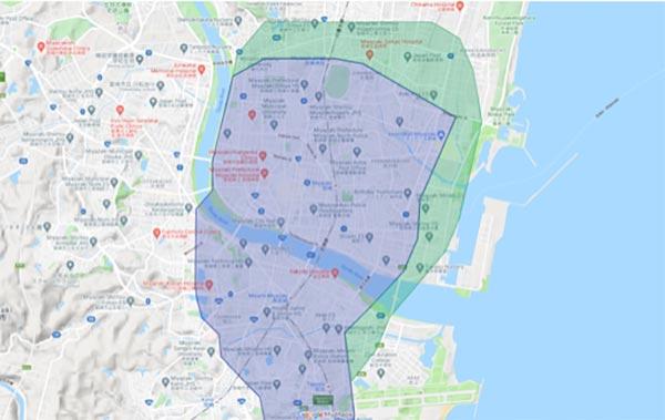 Uber Eats宮崎配達エリア拡大【210412】