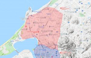 Uber Eats福岡北部配達エリア【210304】
