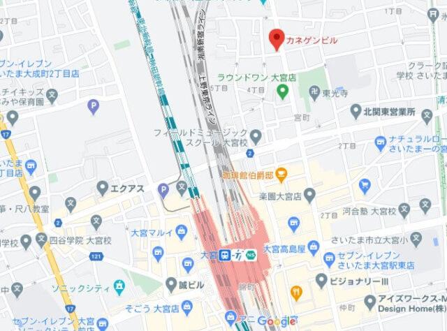 foodpanda埼玉ライダー拠点
