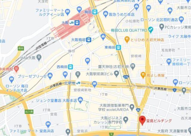 foodpanda大阪ライダー拠点(新)