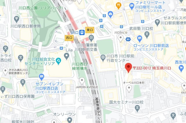 foodpanda川口ライダー拠点
