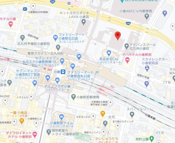 Foodpandaライダー拠点(北九州市)
