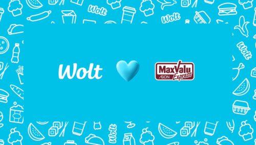 Wolt×マックスバリュ
