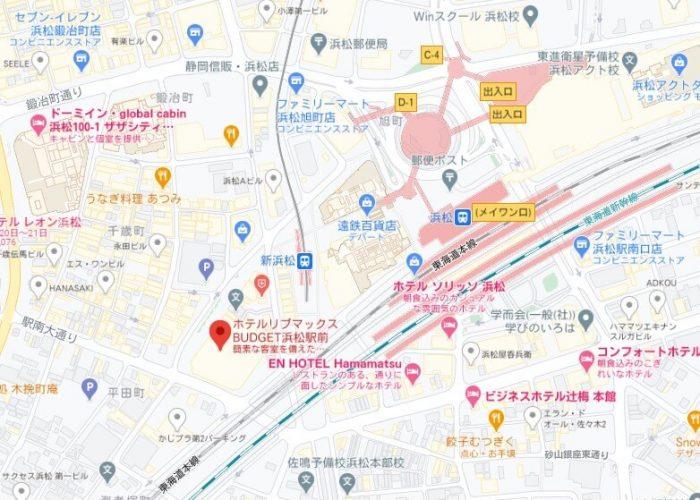 Foodpandaライダー拠点(浜松)