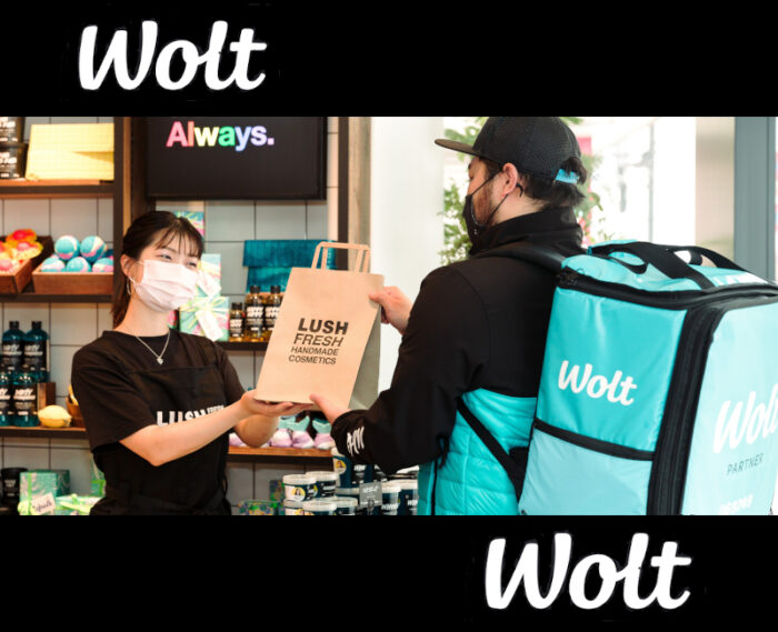 Wolt(ウォルト)×LUSH